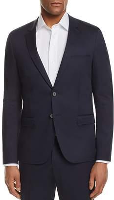 HUGO Solid Cotton Slim Fit Suit Jacket