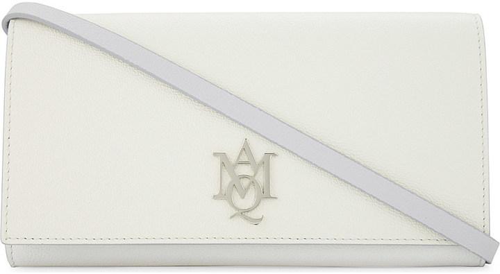 Alexander McQueenAlexander Mcqueen Insignia leather cross-body bag