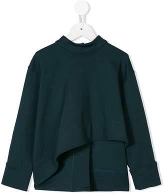 Marni asymmetric blouse