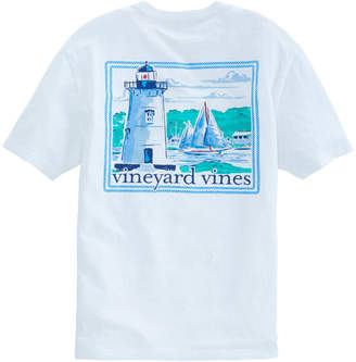 Vineyard Vines Slub Tica Lighthouse Pocket T-Shirt