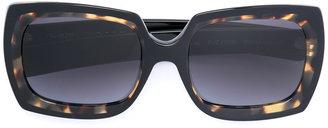 Oliver Goldsmith square sunglasses $440 thestylecure.com