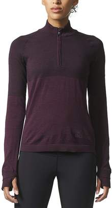 adidas Climaheat Primeknit 1/2-Zip Shirt - Long-Sleeve - Women's