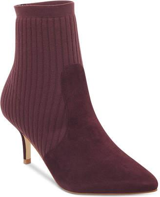 Marc Fisher Albinia Sock Booties Women Shoes