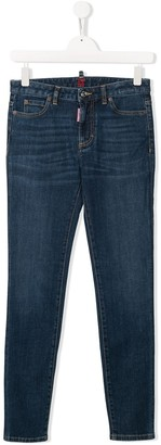 DSQUARED2 TEEN Twiggy skinny-fit jeans