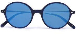 Oliver Peoples Round-Frame Acetate And Gold-Tone Sunglasses