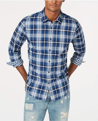 American Rag Men's Sam Double-Face Plaid Shirt