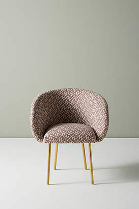 Anthropologie Bethan Gray for Strike Collection Dining Chair