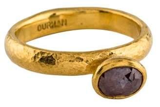 Gurhan 24K Diamond Cocktail Ring