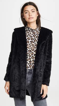 BB Dakota Jack By It's Shawl Good Faux Fur Jacket