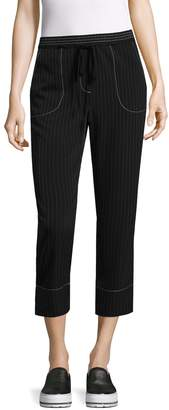 Tracy Reese Women's Striped Crop Pant