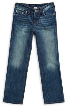 Boy's Straight-Leg Jeans $79 thestylecure.com
