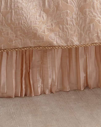 Austin Horn Classics Aurora Pleated Silk Queen Dust Skirt