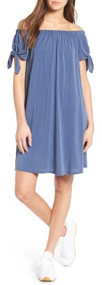 Women's Soprano Off The Shoulder Shift Dress $39 thestylecure.com