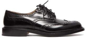 Tricker's Bourton Leather Brogue - Mens - Black