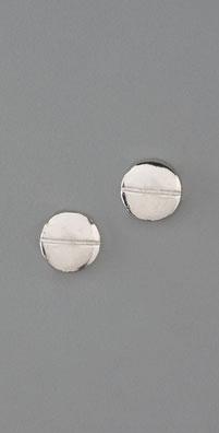 Gorjana Silver Porter Studs