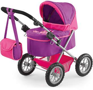Bayer Trendy Doll's Pram - Pink & Purple