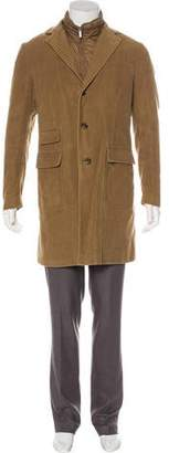 Moncler Layered Overcoat