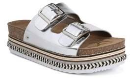 Sam Edelman Oakley Metallic Sandals
