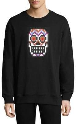 Mostly Heard Rarely Seen Dia De Los Muertos Skull Sweatshirt