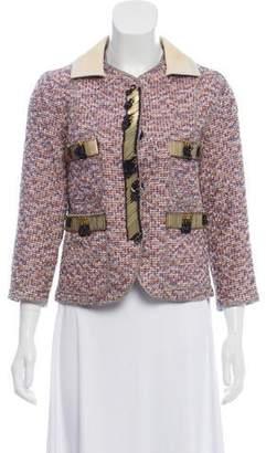 Marc Jacobs Tweed Embellished Jacket
