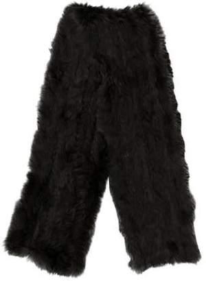 Joseph Knitted Fur Scarf