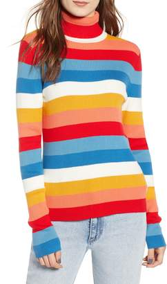 Wrangler Rainbow Stripe Rib Sweater