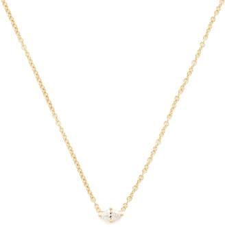 Sara Weinstock Marquis Horizontal Necklace