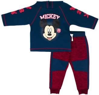 Disney Disney's Mickey Mouse Toddler Boy Pullover Hoodie & Pants Set