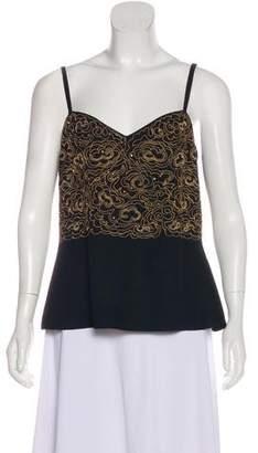 Sonia Rykiel Embroidered Sleeveless Top