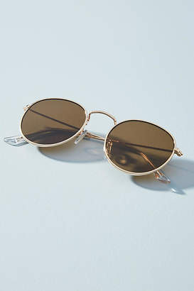 Anthropologie Lorie Rounded Sunglasses