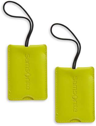 Samsonite Pack of Two Luggage Tags