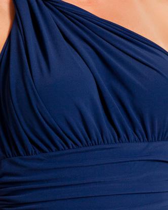 Norma Kamali One Shoulder Mio Swimsuit