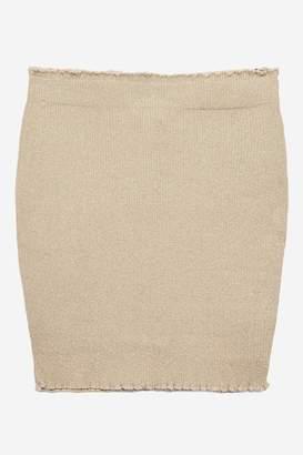 **Maureen Gold MeTallic Skirt by WYLDR