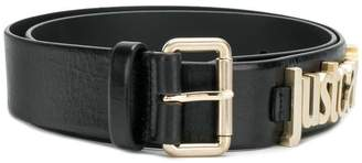 Just Cavalli logo plaque belt