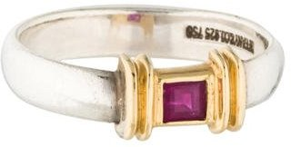 Tiffany & Co. Two-Tone Pink Sapphire Ring $295 thestylecure.com