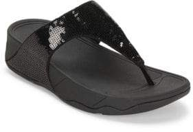 FitFlop Electra Open Toe Slip-On Sandals