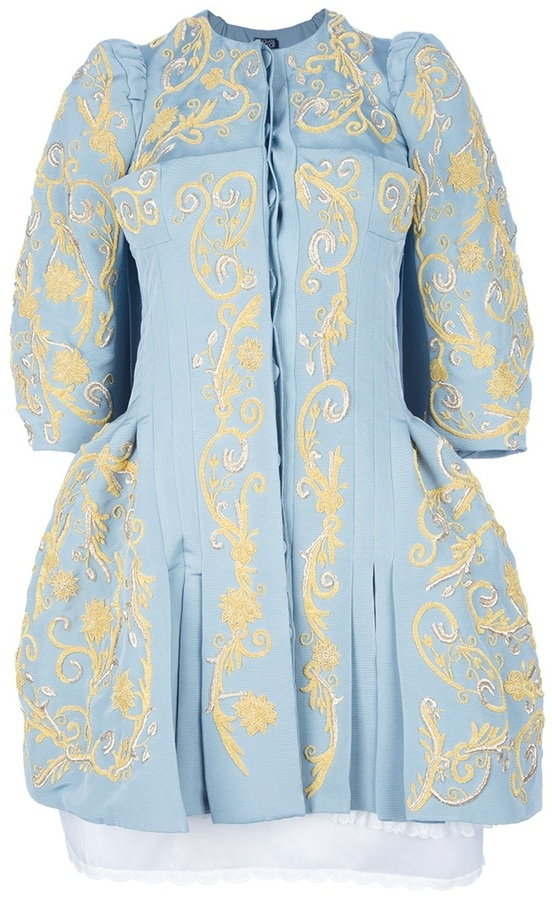Meadham Kirchhoff 'Madonna Ottoman' Dress coat