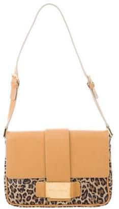 Dolce & Gabbana Leopard Print Flap Bag