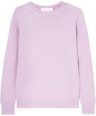 Victoria Beckham Cashmere-blend Sweater - Lilac