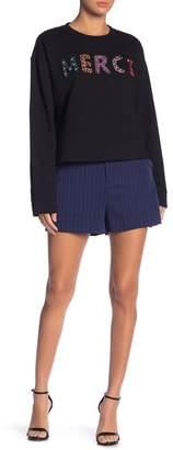 Grey Lab Pinstripe Woven Shorts