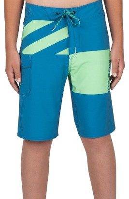 Boy's Volcom Logo Party Pack Mod Board Shorts $45 thestylecure.com