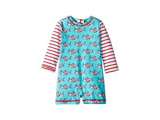 Hatley Snorkeling Sharks Rashguard One-Piece (Infant)