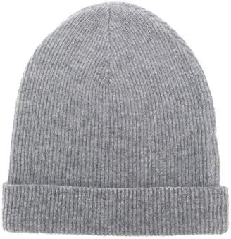 Cashmere In Love cashmere ribbed beanie