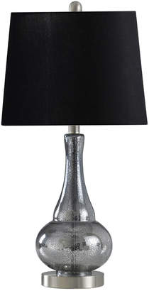 Stylecraft Style Craft 24.5In Sheer Blue Table Lamp
