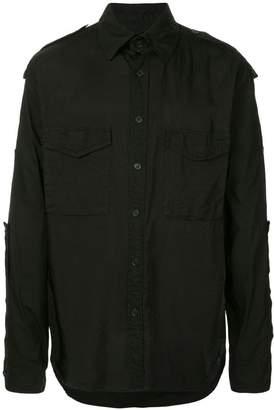 Yohji Yamamoto military style shirt