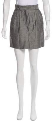 Lover Herringbone Mini Skirt