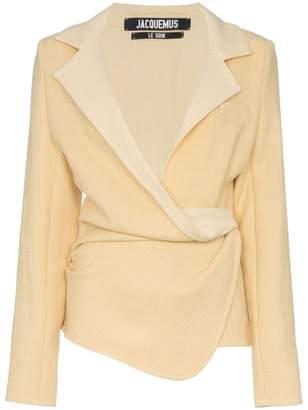 Jacquemus wrap blazer jacket