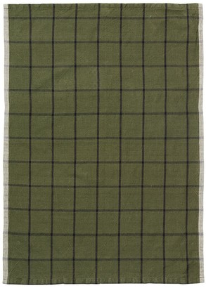 ferm LIVING Hale Yarn-dyed Linen & Cotton Tea Towel