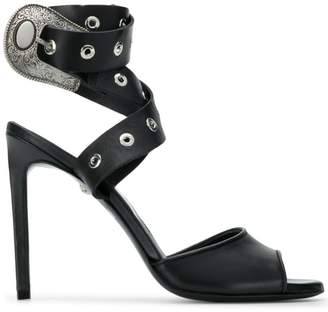 Just Cavalli buckle heeled sandals