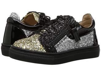 Giuseppe Zanotti Kids Glitter Sneaker (Toddler)